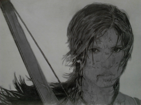 Lara Croft por AntonioLiviu